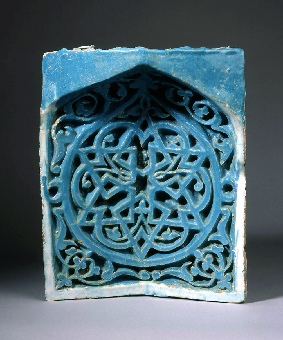 Oxford Authentication® TL Thermoluminescence (TL) Testing Authenticity dating UK Oxfordshire genuine Tang Horse Genuine E Muqarnas Timurid Tile Courtesy of Simon Ray