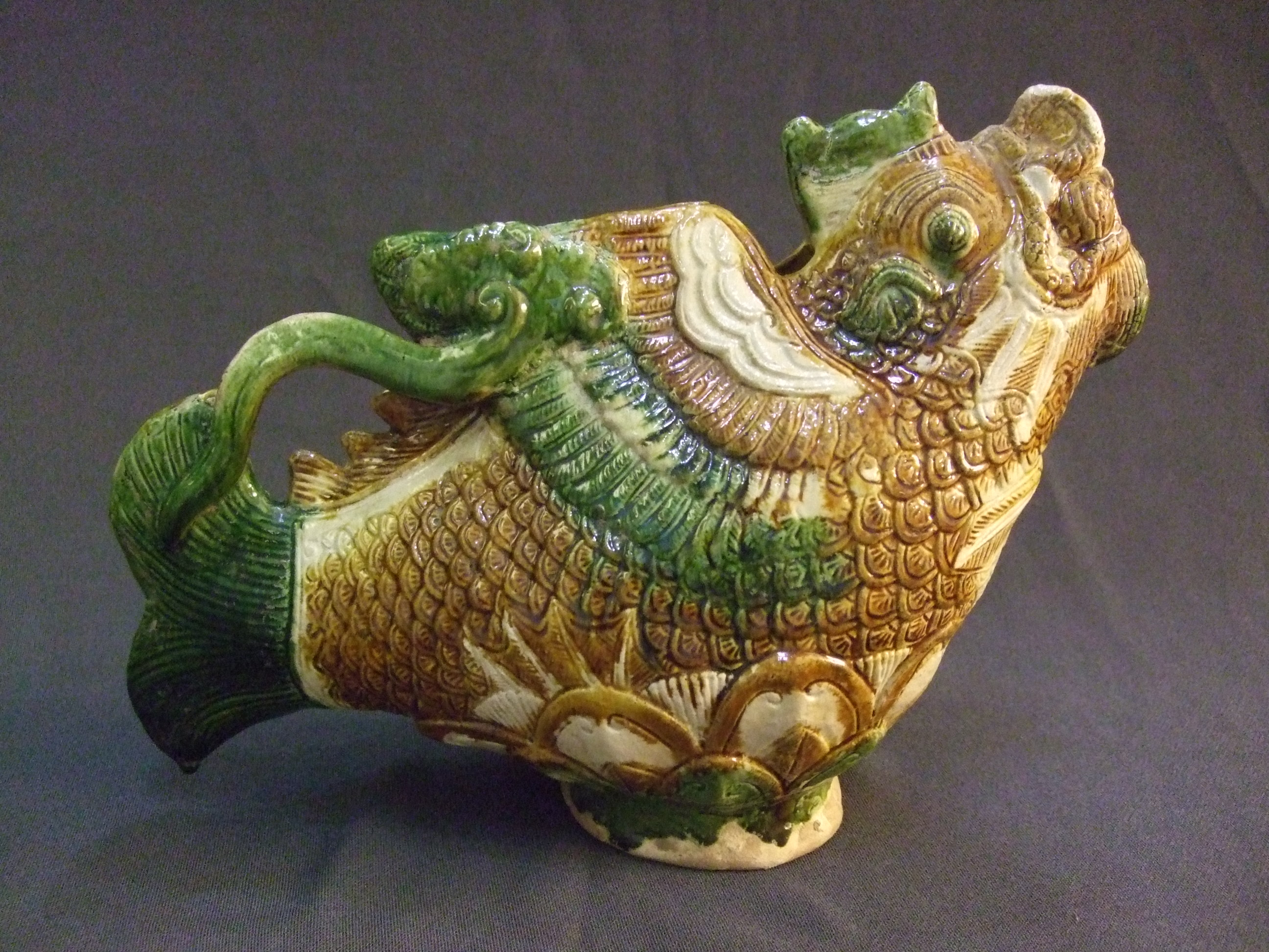 Oxford Authentication® TL Thermoluminescence (TL) Testing Authenticity dating UK Oxfordshire Chinese pottery ewer